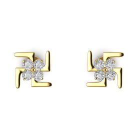 The Immoderate American Diamond Earring Stud