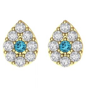 The Incredible American Stone Earring Stud