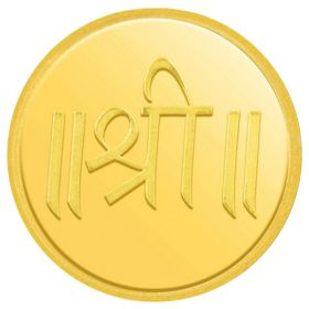 5 GM SHREE GOLD COIN 24KT (995)
