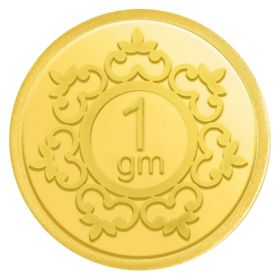 1 GM INVESTMENT GOLD COIN 24KT (995)