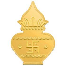 10 GM EXCLUSIVE MANGAL KALASH GOLD COIN 24KT (995)