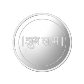 25 GM SHUBH LABH SILVER COIN (999)